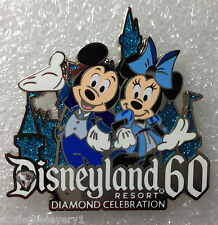 Disney Pin - Disneyland Resort 60th Diamond Celebration Mickey & Minnie Mouse