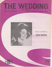 La Boda-Julie Rogers - 1961 Partituras