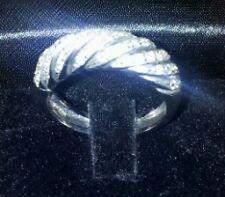 Anello in oro bianco con brillanti ct. 0,49 g.11