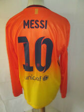 Barcelona Messi 10 2012-2013 Away Football Shirt Size Large Long Sleeves /34312
