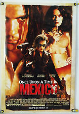 ONCE UPON A TIME IN MEXICO DS ROLLED ADV ORIG 1SH MOVIE POSTER JOHNNY DEPP(2003)