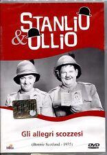 STANLIO & OLLIO: GLI ALLEGRI SCOZZESI - DVD NUOVO E SIGILLATO, NO EDICOLA