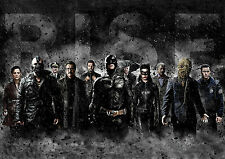 BATMAN THE DARK KNIGHT RISES - LEGEND ENDS POSTER PRINT PHOTO A4 260GSM