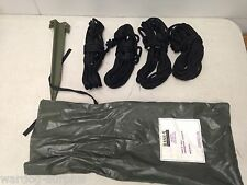 HDT BASE-X SHELTERS 22' ROPE WINDLINE KIT 69007 ROPES & STAKES ARMY TENT USMC