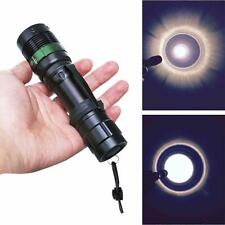 3000 Lumen Zoomable CREE XM-L Q5 LED Flashlight Torch Zoom Super Bright Light UK