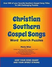 Christian Southern Gospel Songs Wordsearch Puzzles : Keep Your Mind Sharp and...