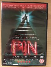 Terry O'Quinn David Hewlett PIN aka PLASTIC NIGHTMARE ~ 1988 Cult Horror UK DVD