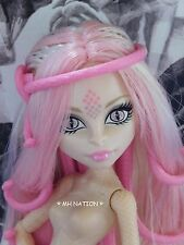 Monster High Viperine Gorgon FRIGHTS, CAMERA, ACTION! Nude Doll