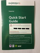 Kaspersky Antivirus 2016 1PC 1 Year protection license key