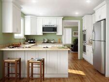 New Bright White Shaker Kitchen Cabinets