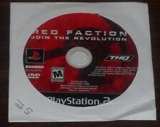 PS2. Red Faction Join The Revolution. (NTSC USA/CAN) Sony Playstation 2 Game