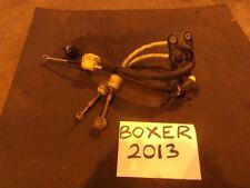 2013 peugeot boxer 2.2 diesel gear câbles 6-vitesse gear linkage cables