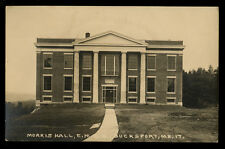 c1920 RPPC Morris Hall, Eastern Maine Conference Seminary, Bucksport, Maine