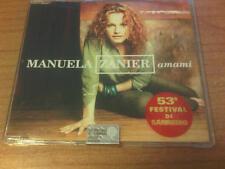 CDs PROMO MANUELA ZANIER AMAMI EMI MAI SUONATO ITALY PS 2003 MAX SANREMO