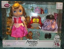 Disney LE Animators' Collection Deluxe Doll Gift Set Aurora Sleeping Beauty New!