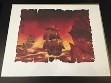 Disney Pirates of the Caribbean Limited Edition Collectible Wall Art Picture