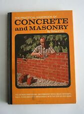 The Practical Handbook of Concrete and Masonry 1969 by Richard Day, 2nd Printing