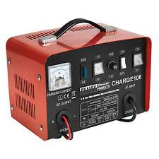 Sealey batería charger/charging/starter - 8amp - 12/24v 230v-charge106