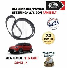 FOR KIA SOUL 1.6 GDI G4FD  2013-  ALTERNATOR AIR CON POWER STEERING FAN BELT