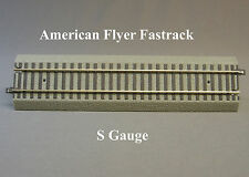 LIONEL AMERICAN FLYER FASTRACK  10 INCH STRAIGHT S Gauge AF 2 rail train 6-49852