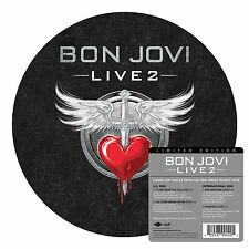 "BON JOVI Live 2 10"" Picture Disc Vinyl EP NEW (4 Tracks) Black Friday 2014"