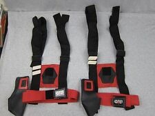 Lot of 2 Vintage Lazer Tag Belt Holster Chest Harness Sets Worlds of Wonder