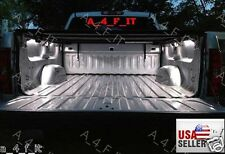 8pcs Universal Pickup Truck Bed Box Waterproof White LED Lighting Light Kit