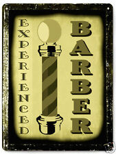 BARBER SHOP METAL SIGN  hair salon shop great gift VINTAGE style wall decor 008