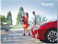 2016 Toyota's Full Line-Up Genuine Factory Sales Brochure / NEW / FREE SHIPPING