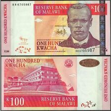 MALAWI LE CAPITOLE PECHE AUX POISSONS TILAPIA FISHES FISCHE 100 KWACHA 2009 NEUF