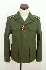 WWII German DAK/Tropical Afrikakorps olivebrown field tunic 2nd pattern/M42 S