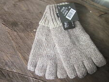 Fingerless Ragg Wool Thinsulate Lined Gloves Fishing Hunting Skiing Snowmobling