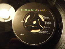 Pet Shop Boys....It,s Alright.......45rpm