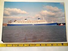 NORWEGIAN CRUISE LINE..S.S NORWAY..FORMERLY S.S. FRANCE..PHOTO 12 X 9 COLOR