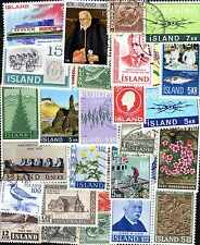 Islande - Iceland 300 timbres différents