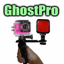 Paranormal Ghost Hunting Equipment Night Vision Action Cam w/ Full HD 1080p 12mp