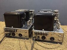 Pair of Mcintosh MC30 Vintage Mono Tube Amplifier Excellent Condition for Age
