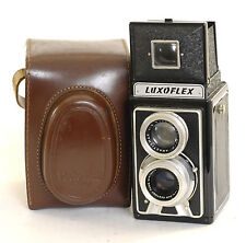 Luxoflex with  75mm f4.5 French  TLR 6x6 Film Camera (0243)