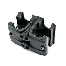 Polymer Double Magazine CLAMP for MP7 Magazine / Black (KHM Airsoft)