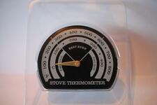 Ventola STUFA temperatura ottimale Gauge Termometro Wood & Carbone Fuoco Log fornelli