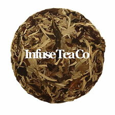 White Moonlight Raw Pu'er Tea Cake Vintage 2015, 100g Hand Made in Yunnan, puerh