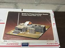 KWU Nuclear Reactor Power Plant  Paper Model Kit 1:350 Scale
