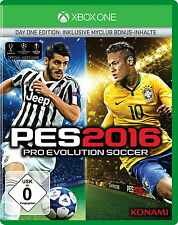 Pro Evolution Soccer 2016 - Day One Edition - Xbox One - Neu / OVP