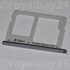 Samsung GALAXY a3 SIM SLOT SLITTA SUPPORTO a310f CARD HOLDER MicroSD Nero