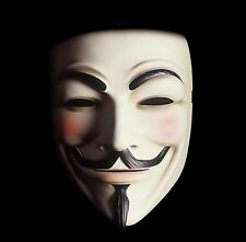 GUY FAWKES MASK V FOR VENDETTA OF HIGH QUALITY HAND-MADE COSTUME MASK . US