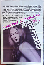 """WHATEVER HAPPENED TO MISS SEPTEMBER - Vintage X-Rated Movie Poster (27"""" x 41"""")"""