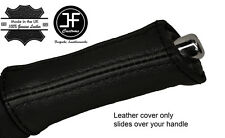BLACK STITCHING HANDBRAKE HANDLE LEATHER COVER FITS SUBARU LEGACY OUTBACK 04-09