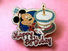 Happy Birthday Mickey Mouse (Mickey Holding Cake) 3D Disney Pin