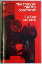 THE STORY OF THE MG SPORTS CAR F WILSON McCOMB CAR BOOK