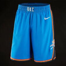 bb5dada71595 Mens Nike NBA Oklahoma City Thunder Icon Shorts Size 38r (866405 403)